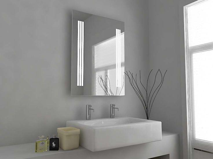 Modern Mirror Design Illuminated Bathroom Mirror With