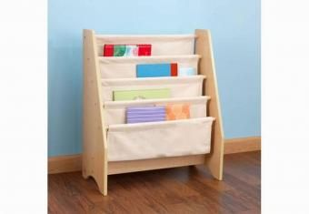 Productos y servicios - Productos - Muebles para Niño - Librero Sling Natural - Babymundo & Kids - Muebles y cunas para bebé