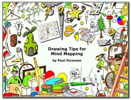 drawing books | Drawing Tips for Mind Mapping E-Book | Mind Map Inspiration