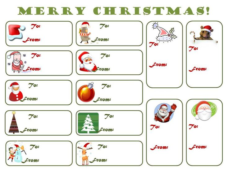 21 Best Templates Images On Pinterest | Christmas Printables, Tags