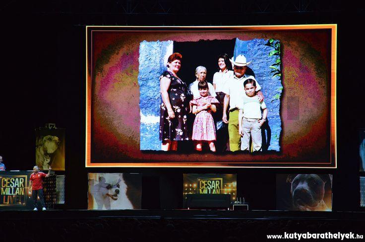 Cesar Millan Live Budapest - A gyermek Cesar és családja Mexikóban
