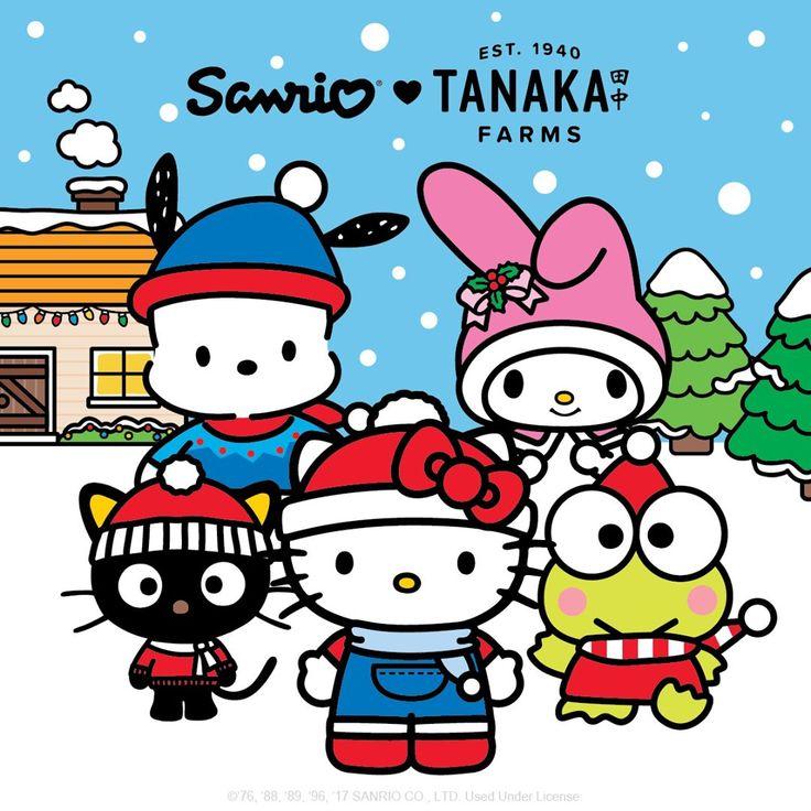 "2,611 Me gusta, 34 comentarios - Hello Kitty (@hellokitty) en Instagram: ""Hello #SoCal! Bring in the holiday season with @Sanrio and @TanakaFarms ❤ Starting Friday,…"""