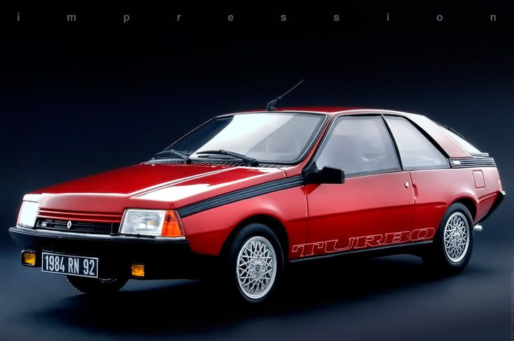 Renault Fuego 1983 - Quemaba