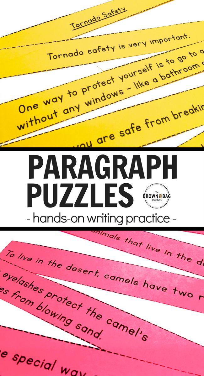 Paragraph Writing Grade 3