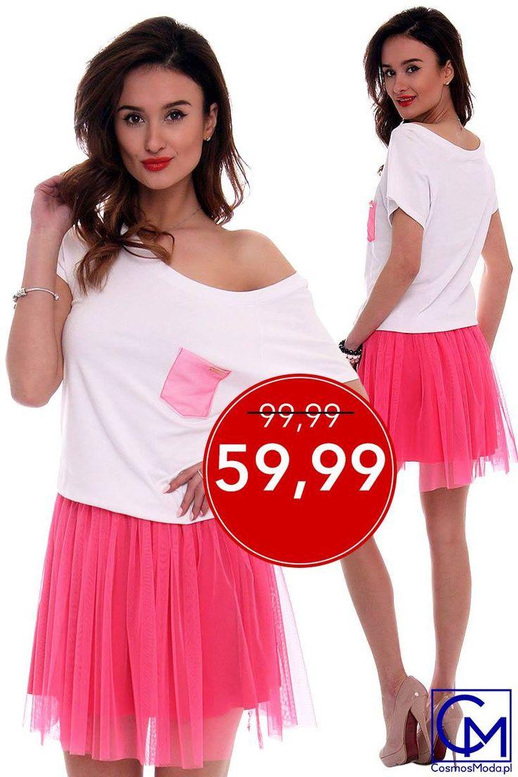 ⚠️ SUPER OKAZJA ⚠️ ➡️ Link do produktu: http://bit.ly/SukienkaCM425 ⬅️ Stylistka Sara <3