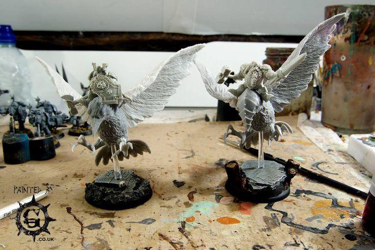 Scibor Miniatures - Dwarf Raven Riders