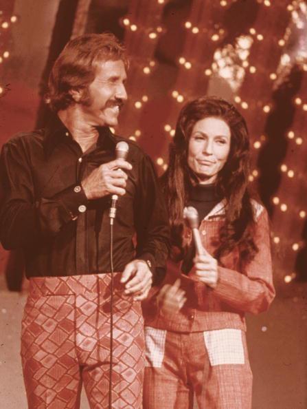 Marty Robbins & Loretta Lynn - look at those pants !