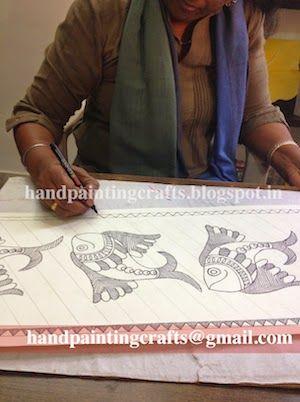 Madhubani painting Classes - Harkiran Kohli - Álbuns da web do Picasa