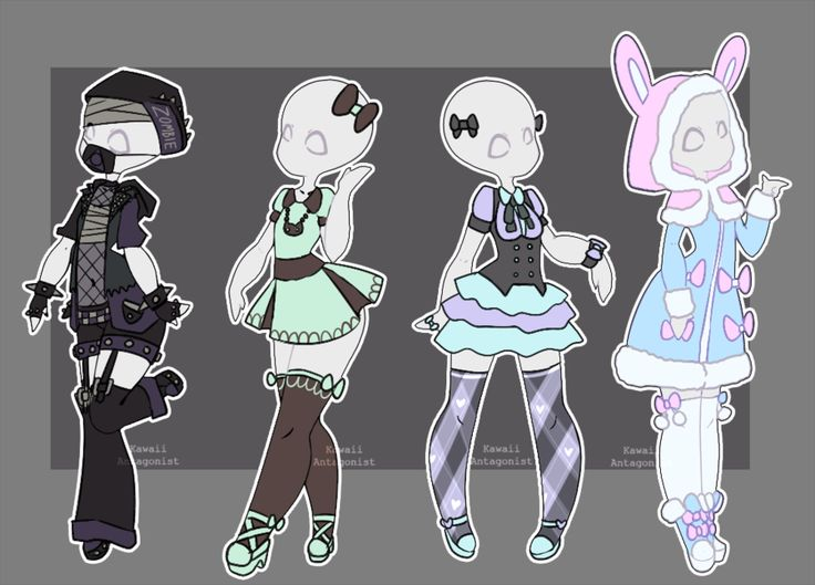 Gacha outfits 17 by kawaii-antagonist.deviantart.com on @DeviantArt