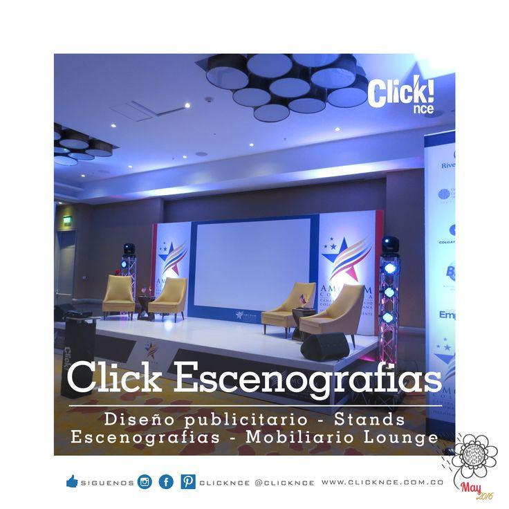 ESCENOGRAFÍAS Clicknce!!! Nos conectamos con tus emociones.. Producción de Eventos (Corp y Social) - Diseño publicitario y Stands, Producción de Stands y Escenografías - Mobiliario Lounge. Síguenos.  Instagram @clicknce - clicknce  www.clicknce.com.co #stands #diseño #construcción #mobiliariolounge #ferias #eventos #ambientes #productor #conceptos #cali #calicolombia #emociones #escenografias #conceptosdesign #mayo2016 #clicknce