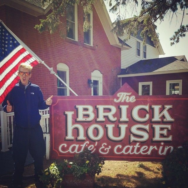 Check Out The Brickhouse Cafe as seen on Diners, Drive-ins and Dives un Cable WI