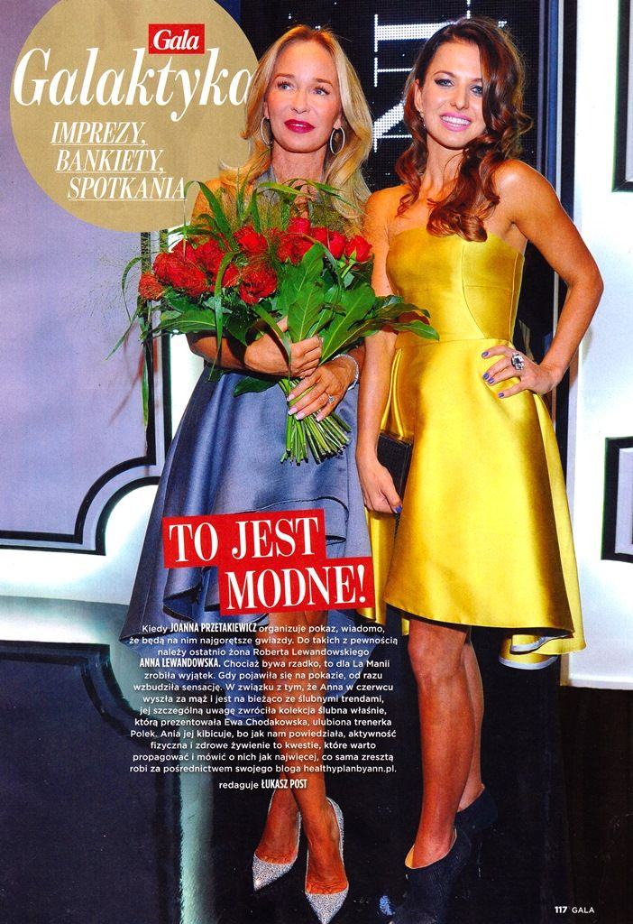 Joanna Przetakiewicz & Anna Lewandowska boyh in La Mania featured in Gala magazine