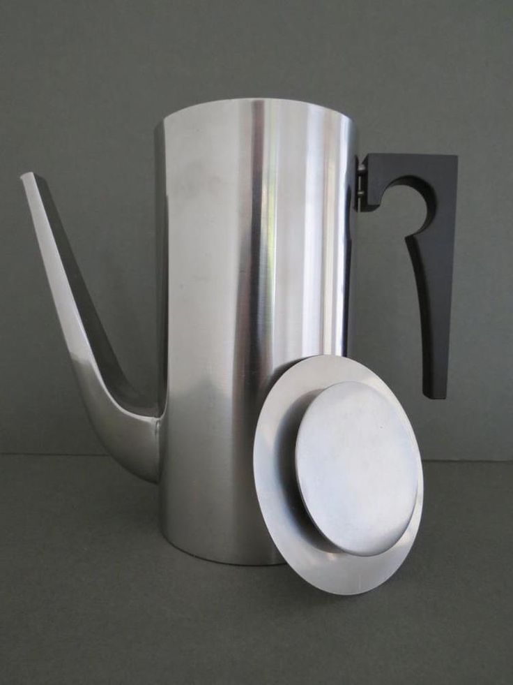 Elegant Cylinda-Line Coffee pot in stainless steel is the essence of functional design. This beautiful coffee pot is satin polished and is a must have item from this collection for any coffee lover. | eBay!