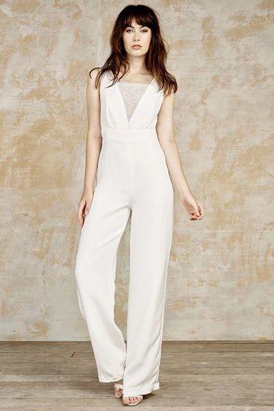 Best 25 tomboy wedding dress ideas on pinterest denim for Wedding dresses for tomboy brides