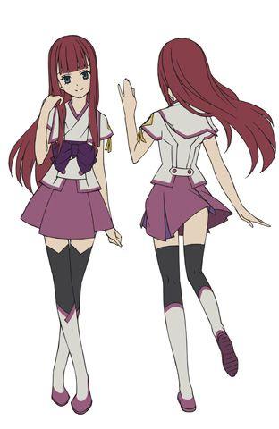 秋月真理亜 14歳(CV:花澤香菜)<br />早季の親友。<br />透き通るような白い肌と燃えるような赤い髪を持つ美少女。<br />強気な性格で、大人しく気弱な守を従えているが、いざという時は献身的に彼を守ろうとする。 そのいっぽう、怖い話は不得意という女の子らしい一面も。