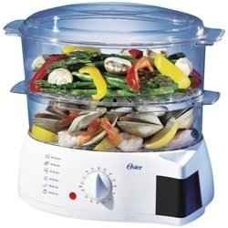 The Best Electric Food Steamers One of the healthiest ways to cook is to steam your food with the Best Electric Food Steamers. You can steam a whole dinner in a food steamer. You can steam fish, seafood, meats, eggs, vegetables, potatoes, squash, le