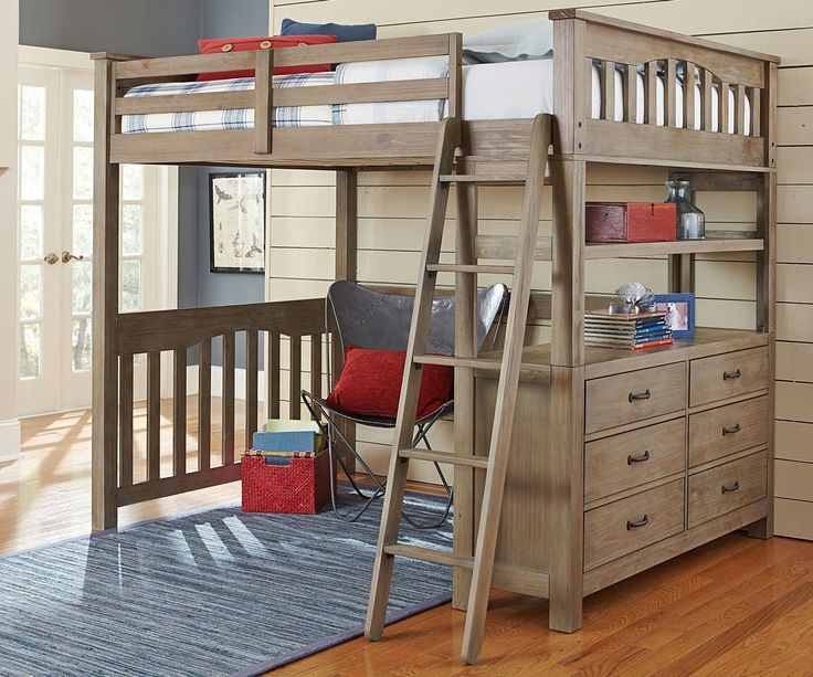 Top 25+ Best Twin Size Loft Bed Ideas On Pinterest   Bunk Bed Mattress, Bunk  Beds With Mattresses And Homemade Bunk Beds