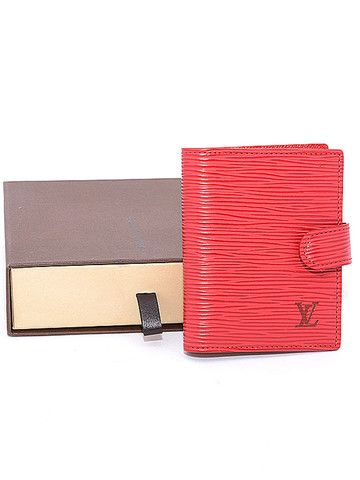 Louis Vuitton agenda-tarjetero piel tienda segunda mano auténtico lujo - CheapToChic