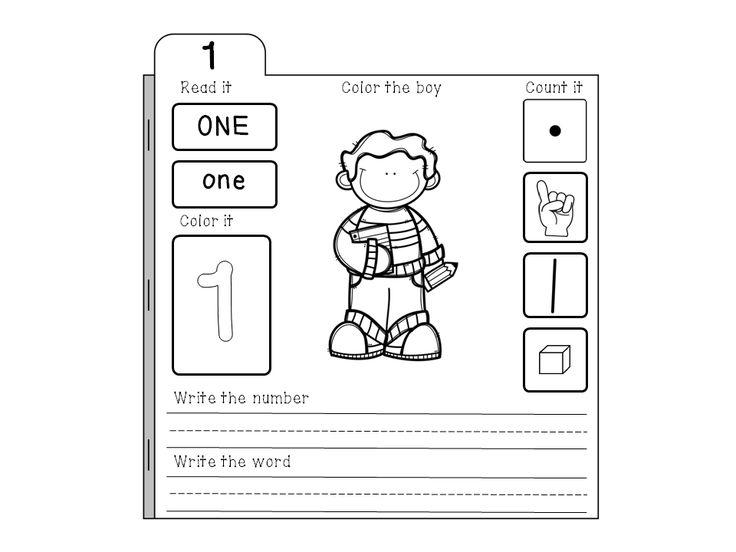 Free Numbers Tab Book