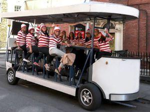 Pedi Bike Tour Dublin - this looks like the best fun!!