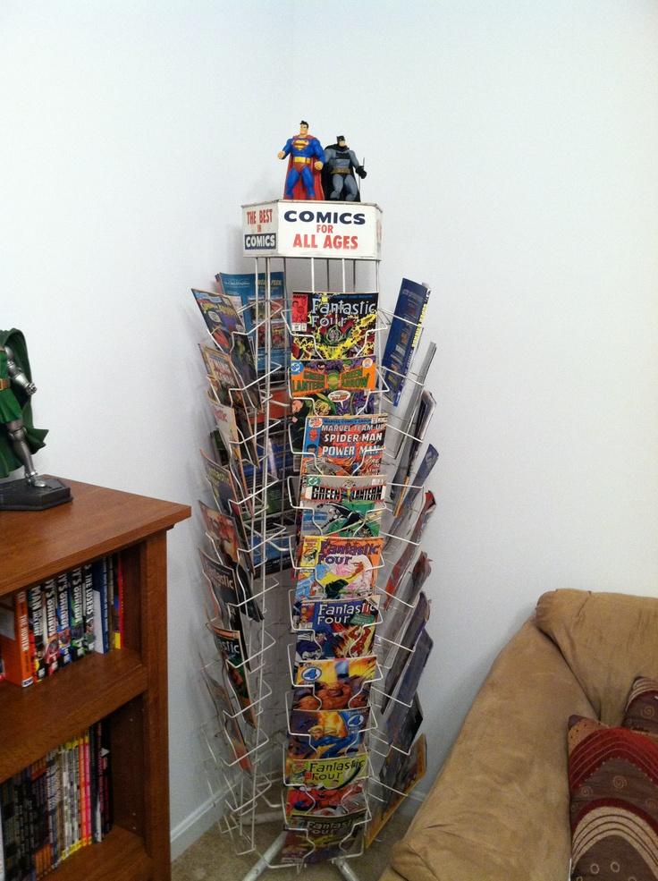 My Vintage Comic Spinner Rack Comic Book Nerd