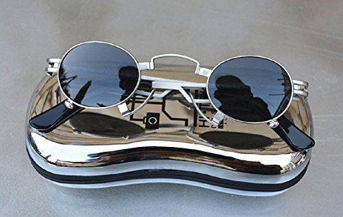 Alexander Hi Tek® Unisex Small Gold Eyeball Sunglasses Round (Silver) Alexander Hi Tek http://www.amazon.co.jp/dp/B016VCFXLG/ref=cm_sw_r_pi_dp_P-Kpwb0M92DQ1