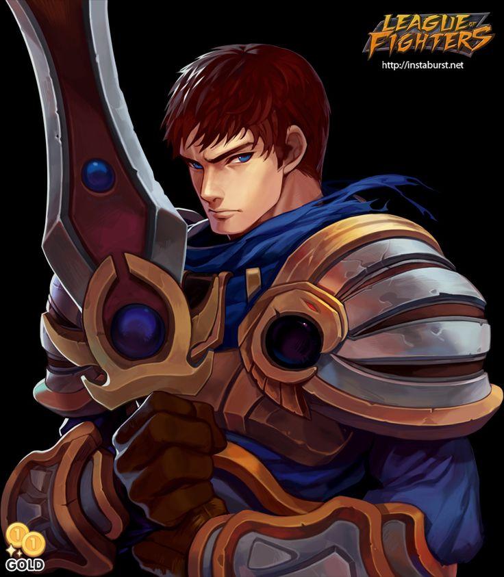 League of Fighters - Garen by 2gold.deviantart.com on @deviantART