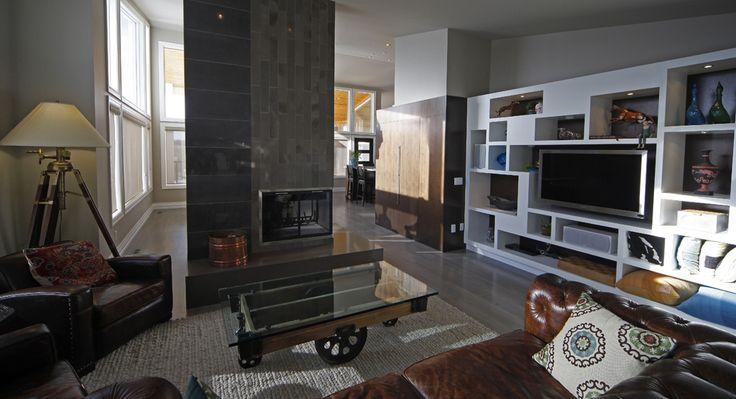 O2 Developments- Bearspaw renovation-Living area