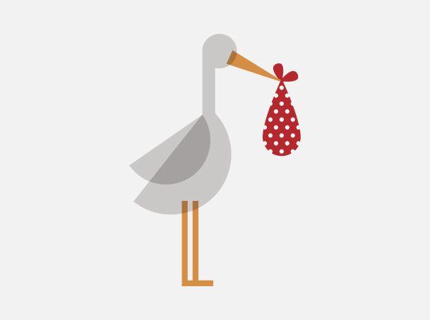 stork illustrations - Google Search