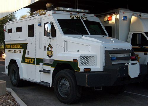 Pima Sheriff Tactical SWAT Vehicle