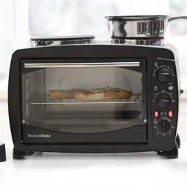 Toaster Oven With Double Burners #TheUltimateBrylaneHome #Sweeps