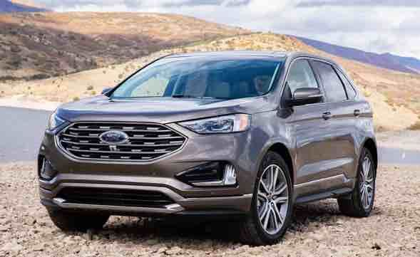 2020 Ford Edge Sel Ford Edge Crossover Suv Ford