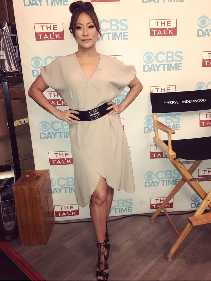 Carrie Anne Inaba in Ruthie Davis