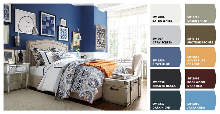 Paint Colors Living Room Blue