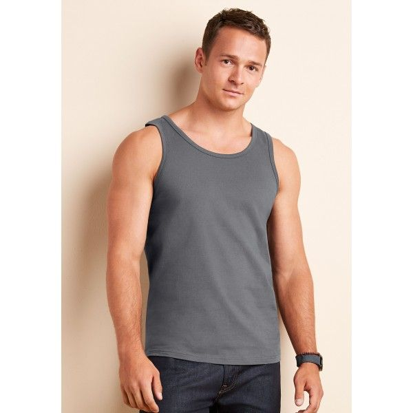 Simple affordable and stylish looking for new sport tank top to head down to the gym in?  Gildan Ringspun Tank Top Quarter-Turned To Eliminate Centre Crease S-2XL 100% Cotton¥ 150 gsm §Ctn Qty; 36 Pc¥ Sport Grey 90% Cotton/10% Polyester§ White 141 gsm.  Price: £2.02  Read here: http://goo.gl/GTIzQu