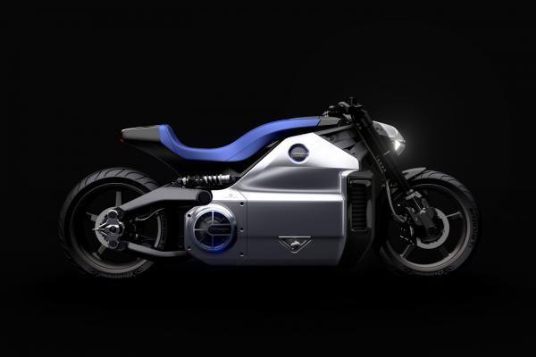 Voxan Wattman elektrisk motorsykkel.