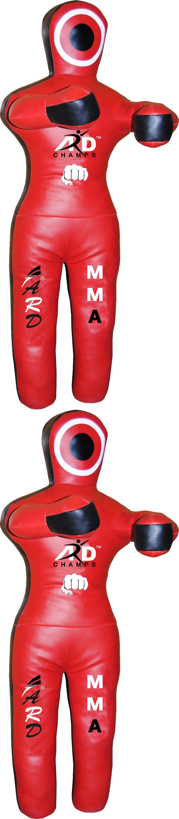 Dummies 179786: 2Fit™ Brazilian Jiu Jitsu Red Leather Grappling Dummy Mma Wrestling Martial Arts BUY IT NOW ONLY: $86.99