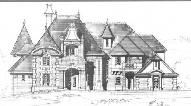 luxury house plans for castles manors chateaux and palaces in european styles design for. Black Bedroom Furniture Sets. Home Design Ideas