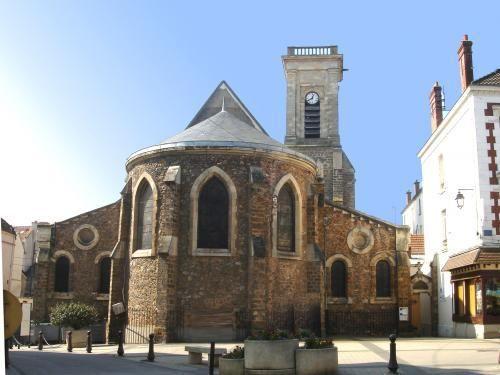 Église Saint-Étienne-Saint-Denis - Monument à La Ferté-sous-Jouarre