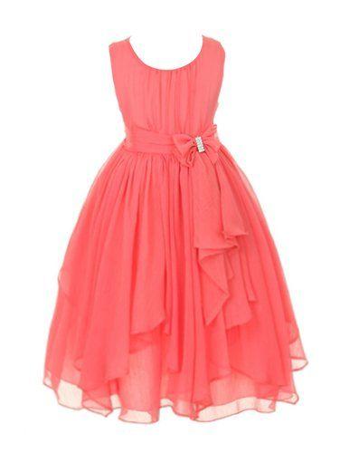 DressForLess Yoryu Chiffon Asymmetric Ruffled Flower Girl Dress , Coral, 4, (KK2040CO-4) DressForLess http://www.amazon.com/dp/B00K8GBZ5A/ref=cm_sw_r_pi_dp_AqCMtb16KN3826J2