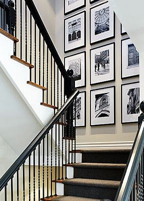 It would be awesome to have a lot of pictures in my house, one day.