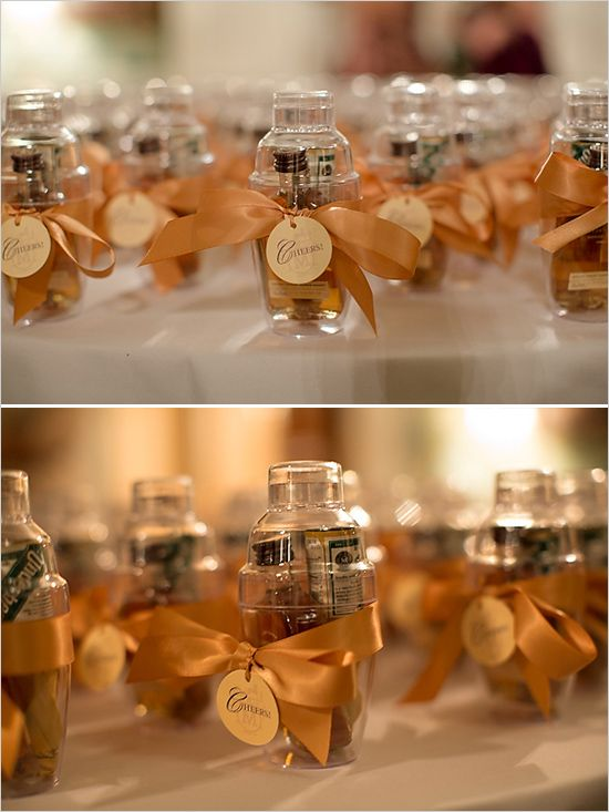 Wedding Gift Ideas Alcohol : ... Wedding Gift Favors, Fall Wedding Favor Ideas, Alcoholic Party Favors