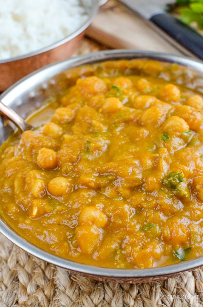 Slimming Eats Butternut Squash Chickpea Curry Dairy Free