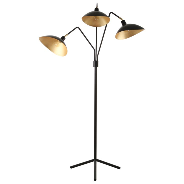 Jacques Black Floor Lamp
