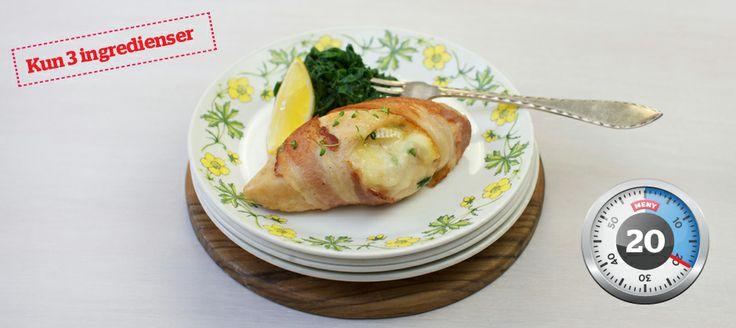 Smørdampet spinat er et smakfullt og supersunt tilbehør til kylling, som er ferdig på et blunk!