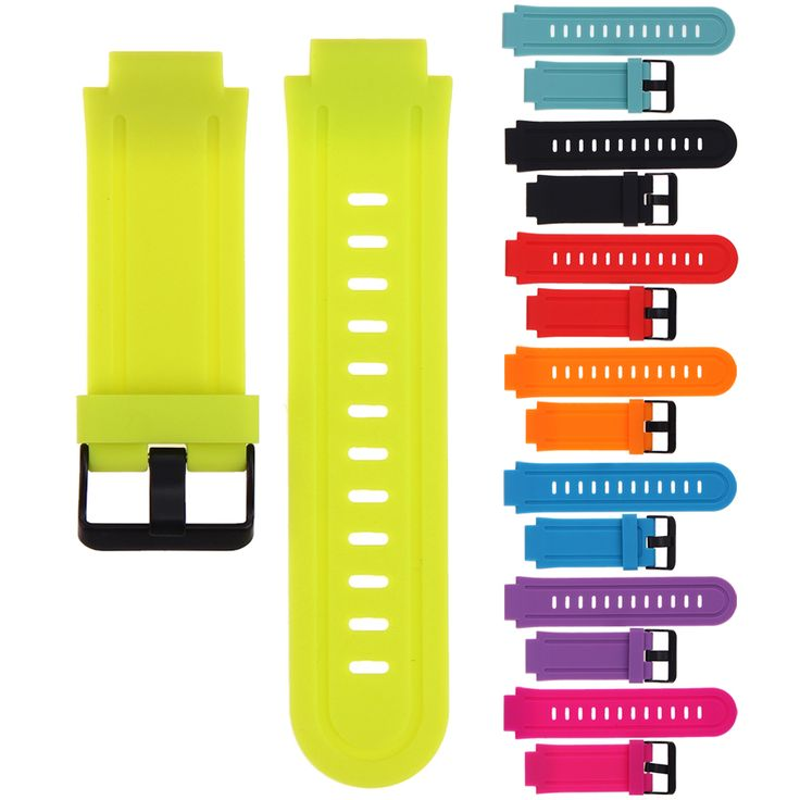 1 Pc Newest Silicone Replacement Watch Band Strap for Garmin for Forerunner225 GPS Sports Watch Accessories 8 Colors Available