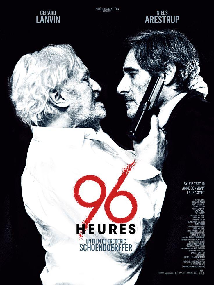96 Heures est un film de Frédéric Schoendoerffer avec Gérard Lanvin, Niels Arestrup. Synopsis : Carré est le patron de la BRB (Brigade de Répression du Banditisme). 3 ans plus tôt, il a fait tomber un grand truand, Kancel. Aujourd'hui, à la fa