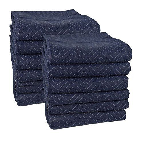 Cheap Cheap Moving Boxes 72 x 80 Inches Pro Moving Blankets Pack of 12 Blue/Black (MB104) This belongs to best selling products online in Office Products  category in USA. Click below to see its Availability and Price in YOUR country.