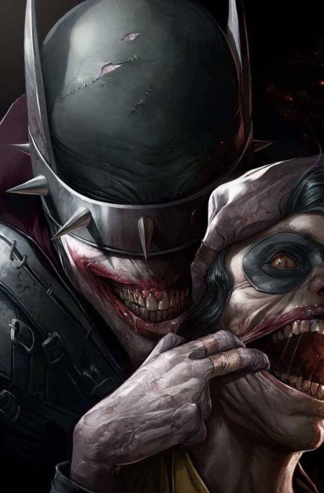 The Batman who laughs.