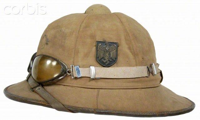WW2 , Nazi Germany, Afrika Korps pith Helmet